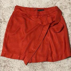 Women's Banana Republic Orange Skirt